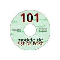 101 modele de FISE de POST CD