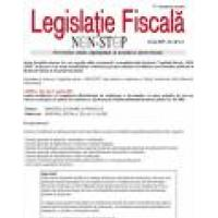 Newsletterul Legislatie Fiscala Non-Stop