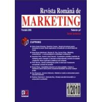 REVISTA ROMÂNA DE MARKETING (4 nr.pe an)