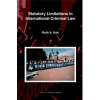 Statutory Limitations in International Criminal Law