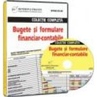 Colectie completa Bugete si formulare financiar - contabile CD